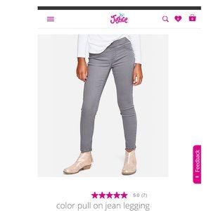 7 Slim - 4 Pairs- Justice Legging Jean Lot